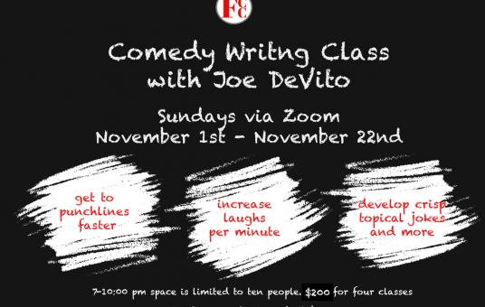 Comedy Writing Workshop