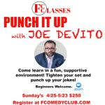 PUNCH IT UP WITH JOE DEVITO